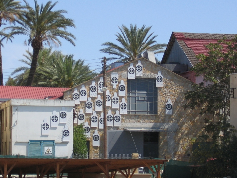 Human Targets exhibited at the Nicosia Municipal Art Centre (NiMAC) for Accidental Meetings exhibition in 2005