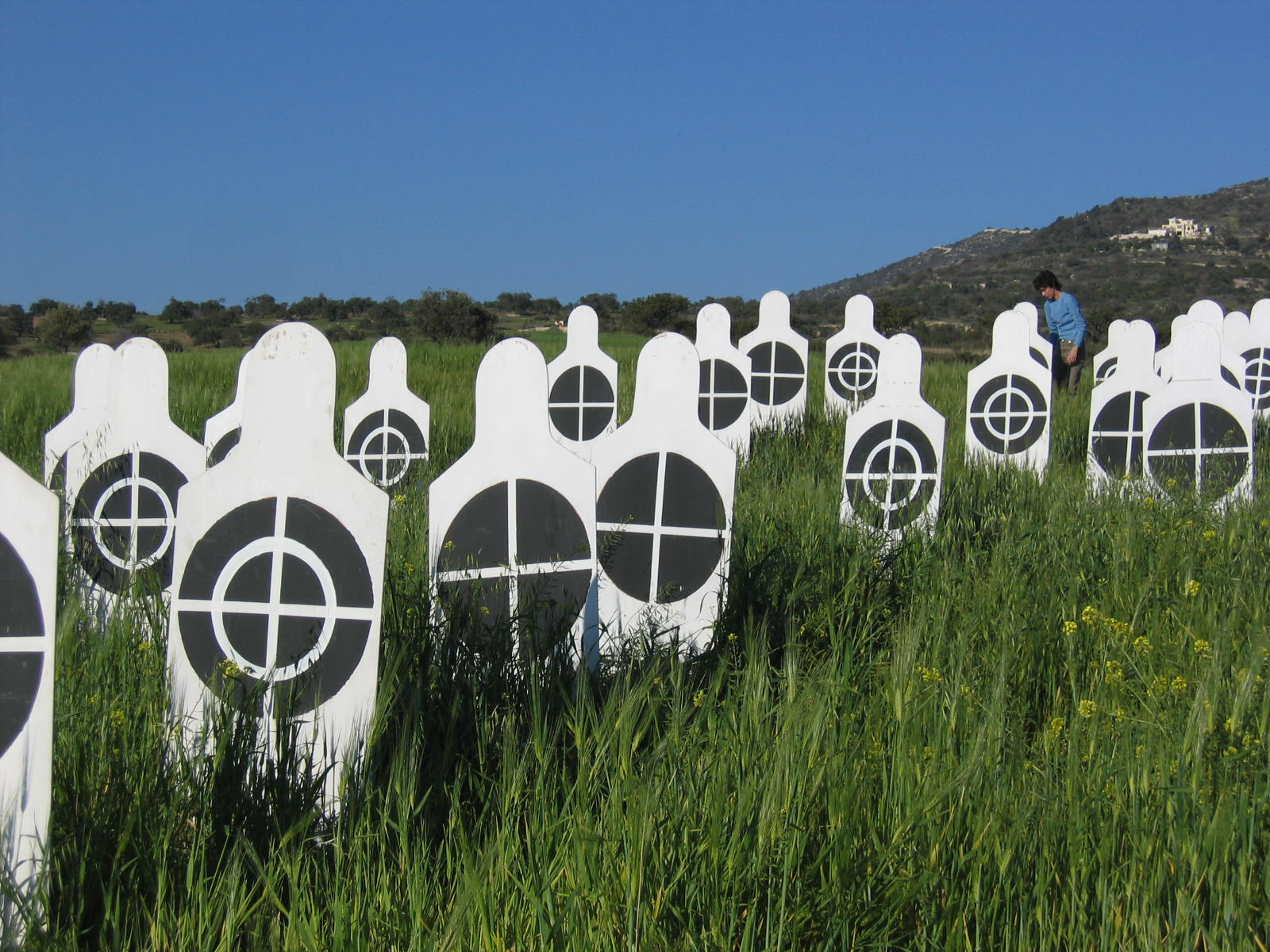 Human Targets in a field