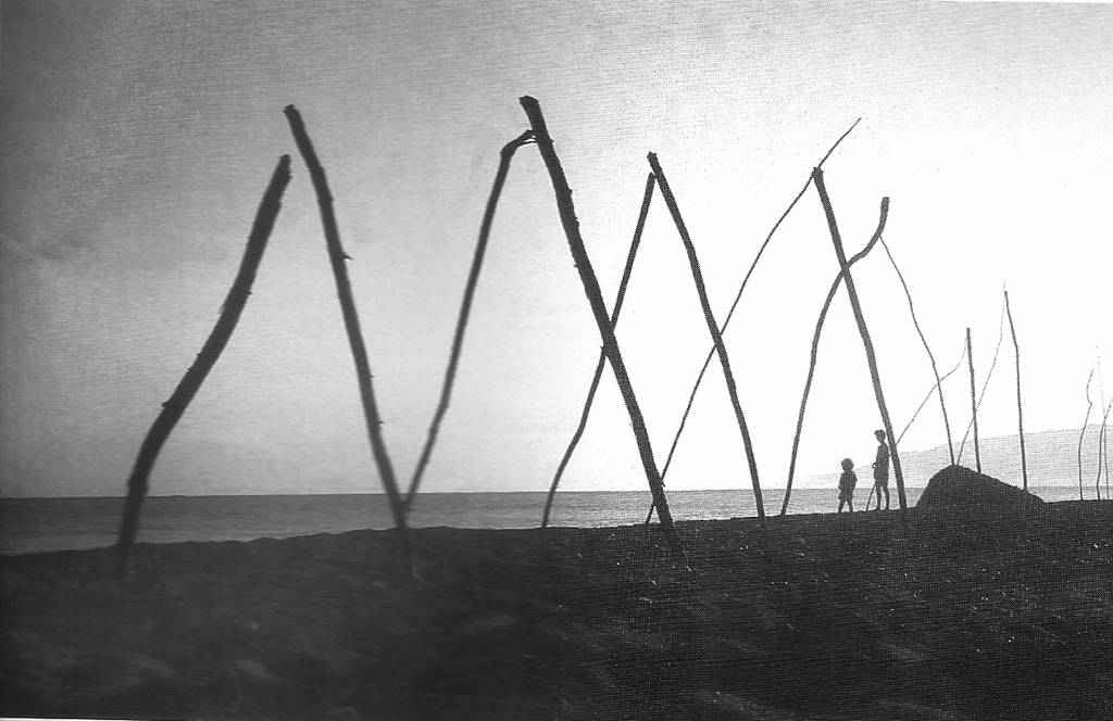 Lambda is an early land art by Cypriot artist Rinos Stefani; he usually engages the public into the work process
